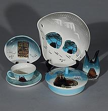 Sascha Brastoff pottery pieces