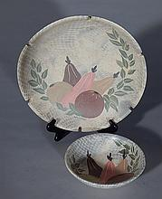 2 Marc Bellaire California pottery pieces