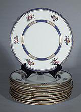 12 Royal Doulton porcelain plates