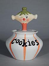 Contemporary 'Pixie' cookie jar