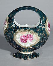 20th c. German porcelain basket