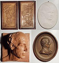 6 Assorted plaques and medallion