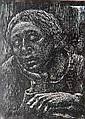 Albert Abramovitz linocut