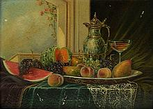 Johan Karoly Reinprecht oil