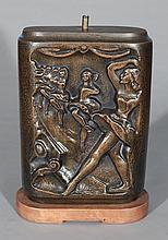 John Hovannes bronze lamp base