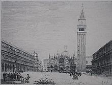 Emanuele Brugnoli etching