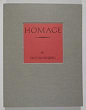 Fritz Eichenberg portfolio of 12 engravings