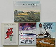 4 Books on watercolors