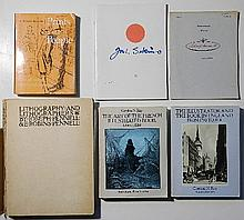 6 Books and journals on various art subjects