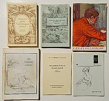 6 Books on various exhibitions
