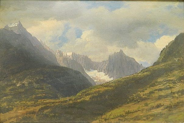 Albert Bierstadt oil