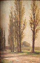 19th c. European School oil