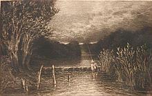 Francis Seymour Haden mezzotint and drypoint