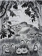 Charles Burchfield lithograph