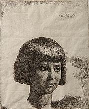 Gerald L. Brockhurst etching