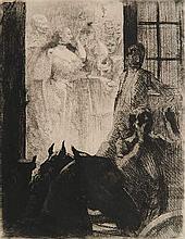 Albert Besnard etching