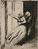 Albert Besnard etching