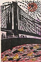 Antonio Frasconi woodcut
