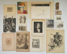 25+ Miscellaneous works on paper