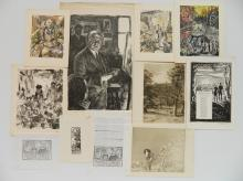 14 Miscellaneous works on paper