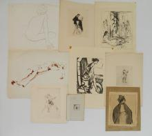 9 Miscellaneous works on paper