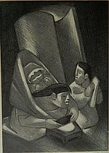 Jean Charlot lithograph
