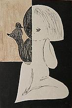 Kaoru Kawano woodblock