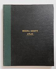 Combination Atlas Map of Medina County Ohio