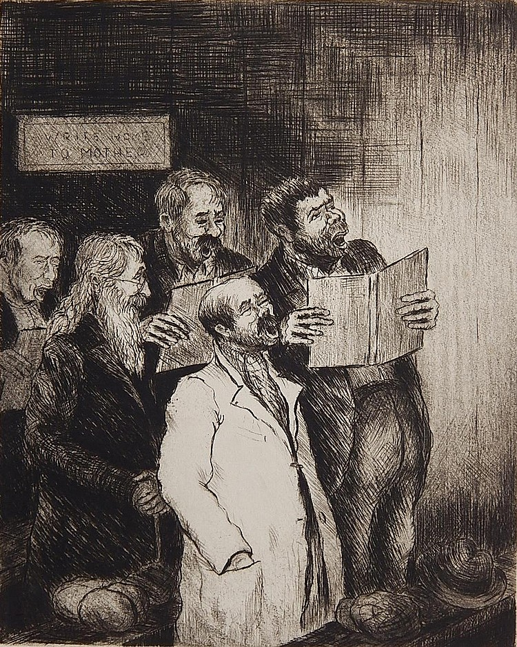 Albert Webb etching