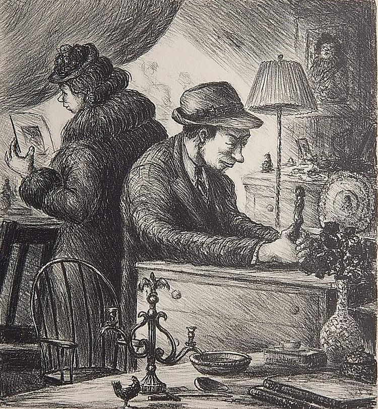 Albert Webb lithograph