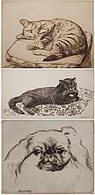 Eugenie Glaman etchings