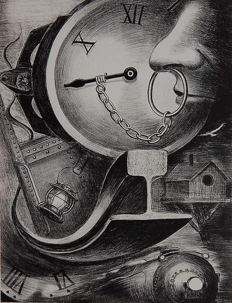 Lamar Baker lithograph