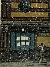 Katsuyuki Nishijima woodblock