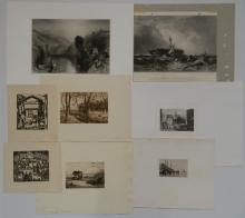 8 Landscape prints