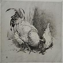 Winifred Austen etching