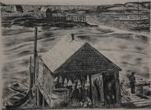 Malvin Marr Albright lithograph