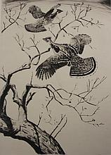 Churchill Ettinger etching
