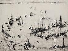Armin Hansen etching