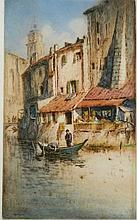 Vaughan Trowbridge etching