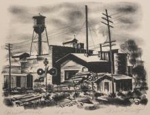 Robert Waltz lithograph