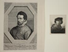 Jean Morin; Christopher Nothe- 2 etchings