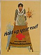 WWI Poster - ''Hold Up Your End''