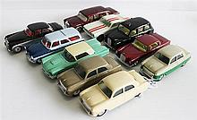 TEN CORGI TOYS MODEL CARS , INCLUDING 'FORD ZEPHYR' AND 'FORD MUSTANG'. (10)