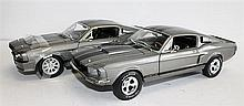 TWO 'FORD MUSTANG GT500 (E)', ERTL AND SHELBY COLLECTIBLES. (2)