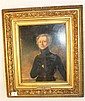 A FRAMED OIL PORTRAIT, John Graydon Smith 1770-1815, Irish Militaria.  24.5cm X 19.5cm