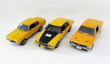 THREE HOLDEN MONARO MODELS, including Autoart.