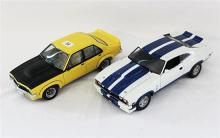 TWO AUTOART MODELS, Ford Falcon Coupe and Holden Torana.