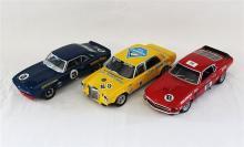 THREE VARIOUS MODELS, including Minichamps Mercedes.