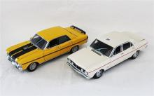 TWO FORD FALCON MODELS, by Classic Carlectibles.