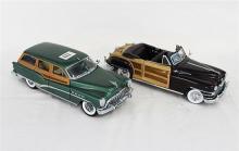TWO DANBURY MINT MODELS, including 1953 Buick Estate Wagon.